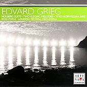 Grieg: Holberg Suite, Norwegian Airs, etc / Pople, et al
