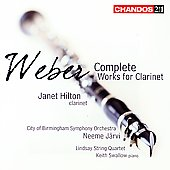 Weber: Complete Works for Clarinet / Hilton, et al
