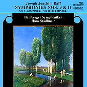 Raff: Symphonies no 9 & 11 / Stadlmair, Bamberg SO