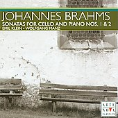 Brahms: Sonatas for Cello and Piano / E. Klein, W. Manz