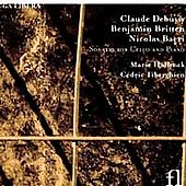 Debussy, Britten, Bacri: Cello Sonatas / Marie Hallynck, C&eacute;dric Tiberghien