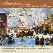 Masterpieces of Russian Music - Tchaikovsky, Glinka, Borodin, etc / Kazandjiev, et al