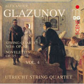 Glazunov: String Quartets, Vol. 4 / Utrecht String Quartet