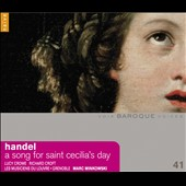 Handel: Song for St. Cecilia's Day / Lucy Crowe, soprano; Richard Croft, tenor