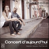 Concert d'Aujourd'hui: Music for Flute & Harp / Alejandro Vazquez, flute; Ruth Bennett, harp