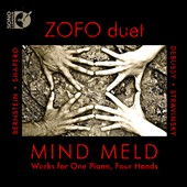 Mind Meld: Works for One Piano, four Hands - Debussy, Stravinsky, Bernstein / Zofo Duet
