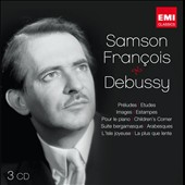 The Debussy Recordings / Samson Francois, piano [3 CDs]