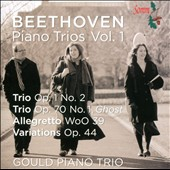 Beethoven: Piano Trios, Vol. 1 - Trios Op. 1/2; Op. 70/1 