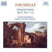 Locatelli: Concerti Grossi Op 1 no 7-12 / Jaroslav Krecek