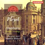 Pleyel: Symphonies / Bamert, London Mozart Players