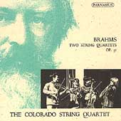 Brahms: Two String Quartets Op 51 / Colorado String Quartet