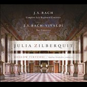 J.S. Bach: Complete Solo Keyboard Concertos, BWV.1052-1058; J.S. Bach-Vivaldi: Two Concertos, BWV.565, 596 / Julia Zilberquit, piano