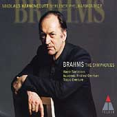 Brahms: The Symphonies, etc / Harnoncourt, Berlin PO