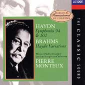 The Classic Sound - Haydn: Symphonies 94 & 101 / Monteux