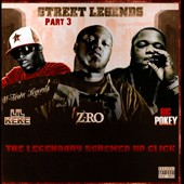 Agonylife/Lil' Keke/Z-Ro/Big Pokey: Street Legends Part 3: The Legendary Screwed Up Click [PA]