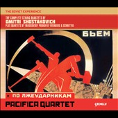 The Complete String Quartets by Dmitri Shostakovich; Quartets of Miaskovsky, Prokofiev, Weinberg & Schnittke / Pacifica Quartet