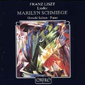 Liszt: Lieder / Marilyn Schmiege, Donald Sulzen