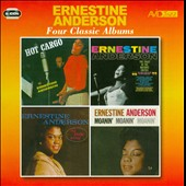 Ernestine Anderson: Four Classic Albums (Hot Cargo/The Toast of the Nation's Critics/My Kinda Swing/Moanin' Moanin' Moanin')
