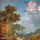 Mendelssohn: String Quartets no 1 & 2, etc / Coull Quartet