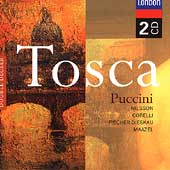 Puccini: Tosca / Maazel, Nilsson, Corelli, Fischer-Dieskau