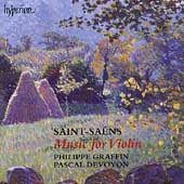 Saint-Saëns: Music for Violin / Graffin, Devoyon