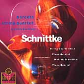 Schnittke: String Quartet no 3, Piano Qnt, etc / Borodin Qt