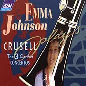 Emma Johnson plays Crussell - The 3 Clarinet Concertos