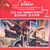 Schumann: Symphony no 10, etc / Slatkin, St. Louis SO