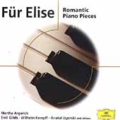 Fur Elise - Romantic Piano Pieces / Kempff, Ugorski, et al
