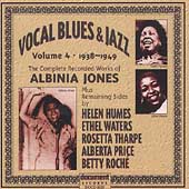 Albinia Jones: Vocal Blues & Jazz, Vol. 4: 1938-1949