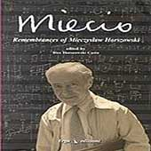 Book + CD - Miecio - Remembrances of Mieczyslaw Horszowski