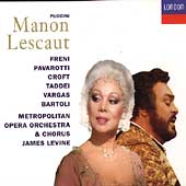 Puccini: Manon Lescaut / Levine, Freni, Pavarotti