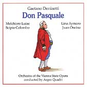Paperback Opera - Donizetti: Don Pasquale / Quadri, Luise