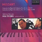 Mozart: Piano Concerto no 21 & 27 / Fou Ts'ong