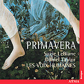 Primavera - Monteverdi, etc / Les Voix Humaines, et al