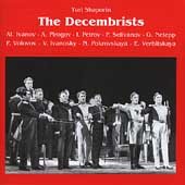 Shaporin: The Decembrists / Melik-Pashaev