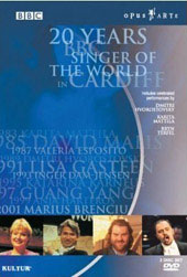 20 Years BBC Singer Of The World in Cardiff [2 DVD]