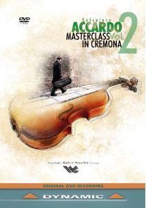Masterclass in Cremona, Vol. 2 with Salvatore Accardo - Music of Beethoven / Falasca, Bellocchio, Dego, Leonardi [DVD]