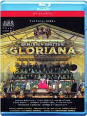 Britten: Gloriana / Susan Bullock, Toby Spence, Mark Stone, Kate Royal, Jeremy Carpenter, Clive Bayley. ROH, Paul Daniel [Blu-Ray]