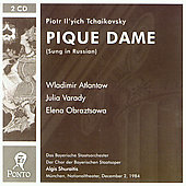 Tchaikovsky: Pique Dame;  Weber / Shuraitis, Var&#225;dy, et al