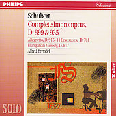 Schubert: 4 Impromptus Op.90 & 142, Alegretto, Etc.