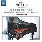 Philips: Harpsichord Works / Elizabeth Farr