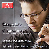 Saint-Sa&euml;ns, etc: Works for Cello and Orchestra / Morales
