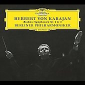 Brahms: Symphonies no 2 & 3 / Karajan, Berlin PO