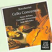 Boccherini: Cello Concertos / Schr&ouml;der, Bylsma, et al