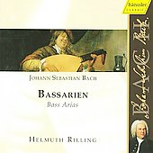 Bach - Bass Arias / Rilling, Fischer-Dieskau, Huttenlocher, Heldwein, Sch&ouml;ne, et al