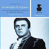 Verdi: La battaglia di Legnano / Rinaldi, Rinaudo, Calabrese, Sereni, Morresi, et al