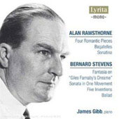 Rawsthorne, Stevens: Piano Works / James Gibb