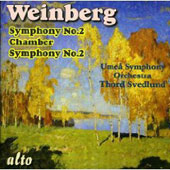 Vainberg Vol 16: Symphony no 2, etc / Svedlund, Umeå SO