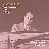 Mozart, Chopin: Piano Concertos / Mindru Katz, et al